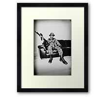 Boy Soldier Framed Print