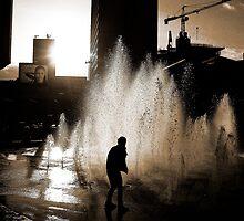Blade Runner b/w  by marc melander