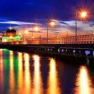 St. Kilda Pier by Alex Stojan