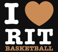 I Heart RIT Basketball by dfur