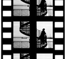 Old Movie Style 1 Sticker