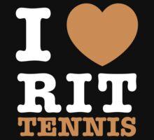 I Heart RIT Tennis by dfur