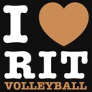 I Heart RIT Volleyball by dfur
