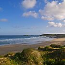 Gwithian Beach in Cornwall by Alex Cassels