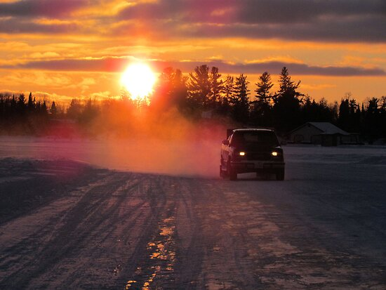 NORTHERN  ICE  ROAD  by Marie  Morrison