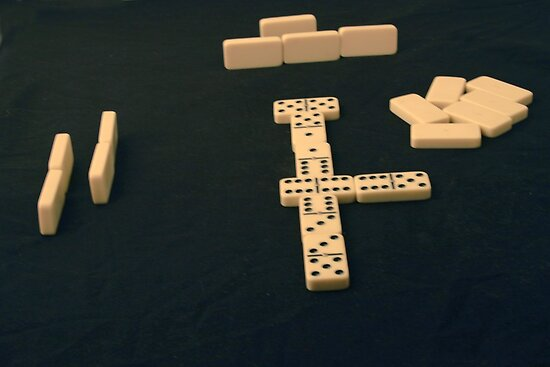 Dominoes by Robert Armendariz