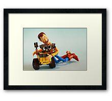 I love you man........ Framed Print
