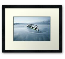 Final Anchorage  Framed Print