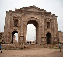 Arch of Hadrian by Mark Prior