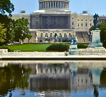 Capitol Building Minus by David Davies