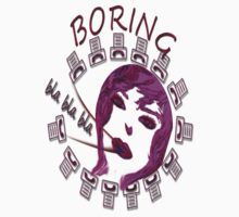 T-shirt - Boring 2 by haya1812