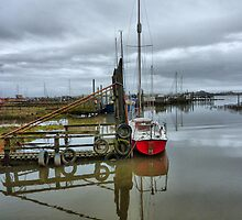 High Tide at Skippool by Lilian Marshall