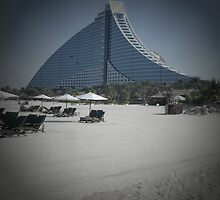 Jumeirah Beach Palace by supergold