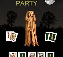 Poker Scream Party Poker by Eric Kempson