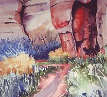 Canyon Path  by Val Spayne