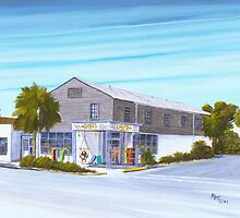 Mr John's Beach Store, Folly Beach,SC by Matthew Campbell