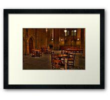 Hushed! Framed Print