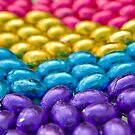 Coloured Chocolate Egg Collection by clearviewstock