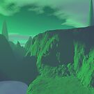 Emerald Planet by KirneH001