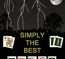 Simply The Best Poker Cards by Eric Kempson