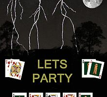 Lets Party Poker Cards by Eric Kempson