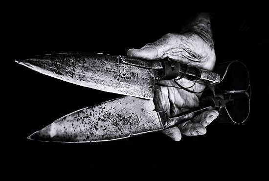 ...click go the shears... by Geoffrey Dunn