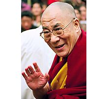 His Holiness the Dalai Lama. northern india Photographic Print