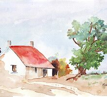 A Farmhouse somewhere in the Karoo by Maree  Clarkson