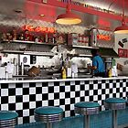 Route 66 Cafe by Loree McComb
