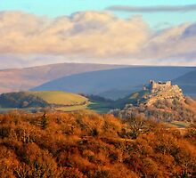 Carreg Cennen Castle by Anthony Thomas