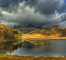Blea Tarn ,A January View by VoluntaryRanger
