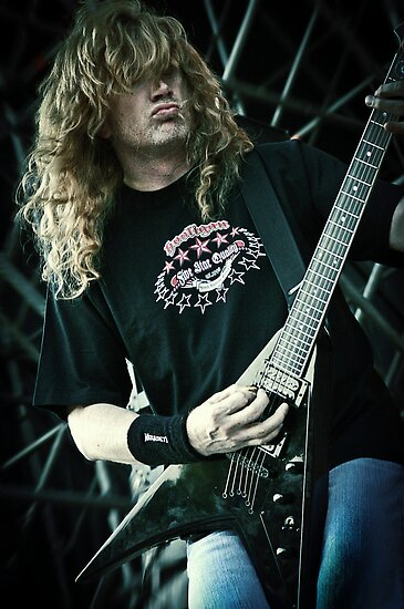 Megadeth - Dave Mustaine by Musicphoto-it
