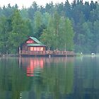 Sunset cottage by tanmari