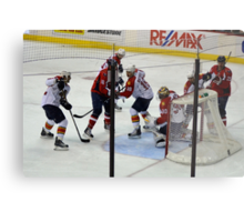 Washington Capitals vs. Florida Panthers: First Goal by Caps Metal Print