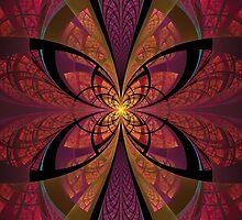 Split Butterfly by Jaclyn Hughes