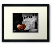 The Bowl Framed Print