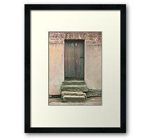 Door 64 Framed Print