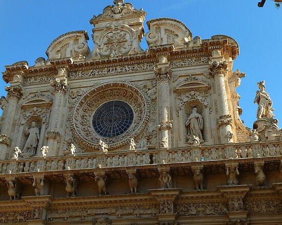 façade of the basilica di Santa Croce by supergold