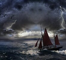 Peril At Sea by Þórdis B.