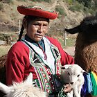 Unidentified Indigenous Woman at Saqsaywaman, Cuzco, Peru, South America by Deb22