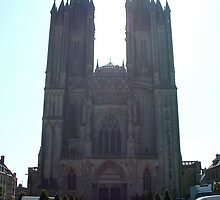 Coutances Cathedral by Paul  Green