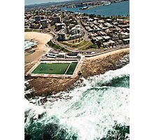 Newcastle Aerial View Photographic Print