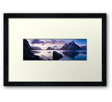 Reinefjorden, Lofoten Islands, Norway. Framed Print