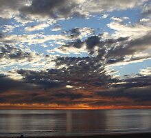 malibu sunset  by anton smith