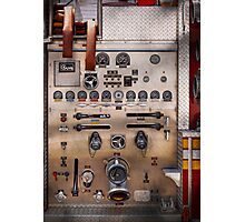Fireman - For guys only  Photographic Print