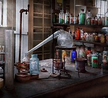 Chemist - My Retort is better than yours  by Mike  Savad