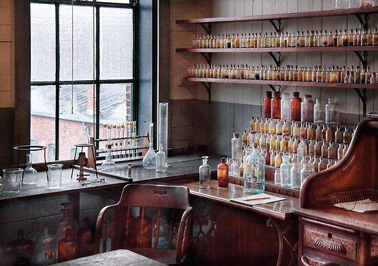 Chemist - Perfume Science  by Mike  Savad