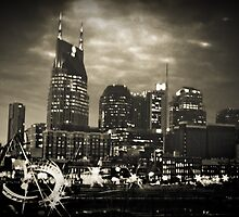Downtown Nashville Tennessee by Shannon Smith