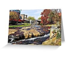 *Fall on the Reedy River Card* Greeting Card