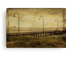 ~ Carte De Vista St Kilda ~ Canvas Print